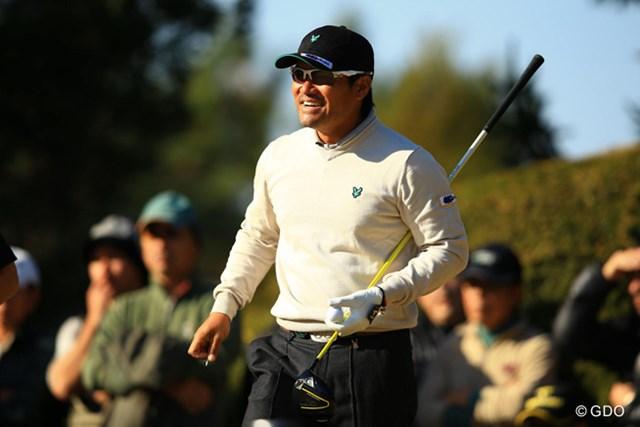 2013年 ゴルフ日本シリーズJTカップ 2日目 宮里優作 17番まではほぼ完ぺきなゴルフだったのではないでしょうか。ラウンド中も笑顔が溢れてましたね。首位とは1打差の8アンダー単独2位です。