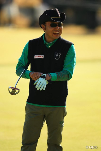 2013年 ゴルフ日本シリーズJTカップ 2日目 片山晋呉 凄く調子が良いと自画自賛。65をマークし3位タイに。さすがは16年連続16回目の出場ですね。