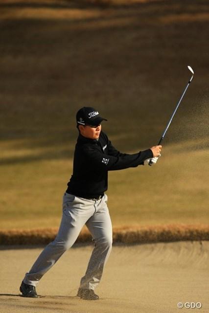 2013年 ゴルフ日本シリーズJTカップ 2日目 川村昌弘 耐えに耐えて今日もイーブンパーでのラウンド。明日以降の爆発に期待ですね。15位タイです。