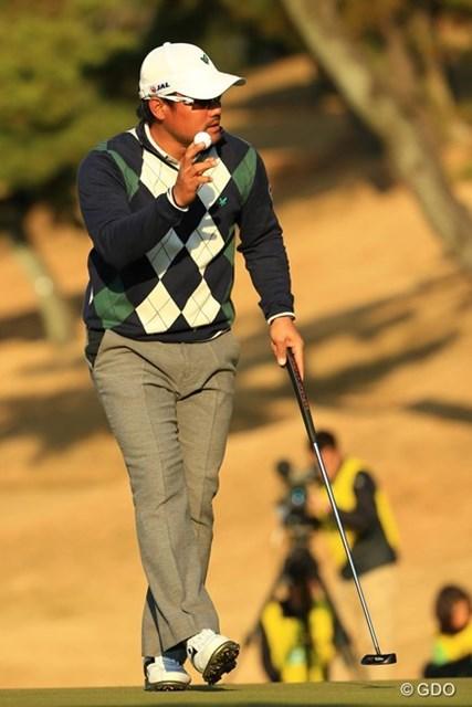 2013年 ゴルフ日本シリーズJTカップ 3日目 宮里優作 前半からバーディラッシュで単独首位に。ツアー初優勝なるか・・・。
