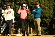 2013年 ゴルフ日本シリーズJTカップ 3日目 (左から)S.J.パク、S.K.ホ、ベ・サンムン