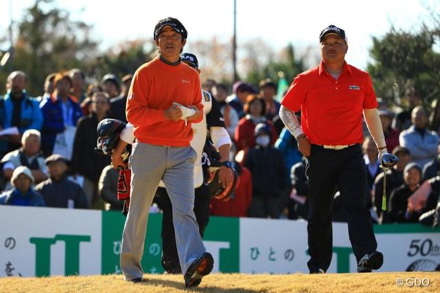 2013年 ゴルフ日本シリーズJTカップ 3日目 山下和宏 首位とは3打差です。初優勝を最終戦で飾れるか・・・。