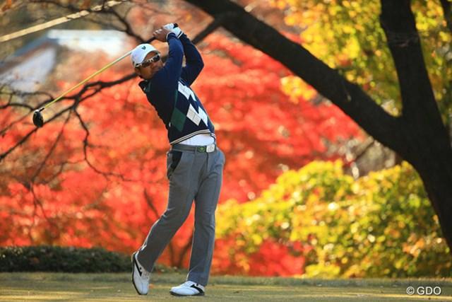 2013年 ゴルフ日本シリーズJTカップ 3日目 宮里優作 ムービングデーは前半、後半ともに勝負所での我慢が光った宮里優作。3打のリードを持って最終日へ。