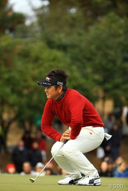 2013年 ゴルフ日本シリーズJTカップ 最終日 藤田寛之 返す返すも初日が痛かった。でも最終的に単独8位フィニッシュはさすがです。