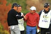 2013年 ゴルフ日本シリーズJTカップ 最終日 谷原秀人 宮里優作