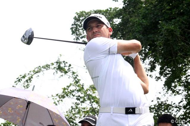 2013年 タイランドゴルフ選手権 3日目 セルヒオ・ガルシア 3日目も順調にスコアを伸ばしたセルヒオ・ガルシアが4打差リードで最終日を迎える