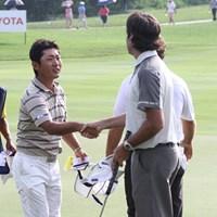 格上のワトソンを圧倒! 6位タイに浮上し、上位争いに加わった河野祐輝 2013年 タイランドゴルフ選手権 3日目 河野祐輝 バッバ・ワトソン