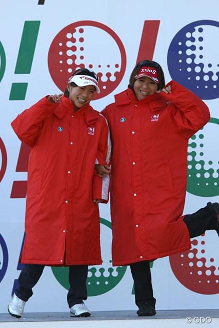 今年が初出場となった吉田弓美子と堀奈津佳。大会を盛り上げていましたね