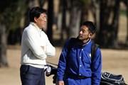 2013年 日立3ツアーズ選手権 羽川豊と息子の宜宏(よしひろ)さん