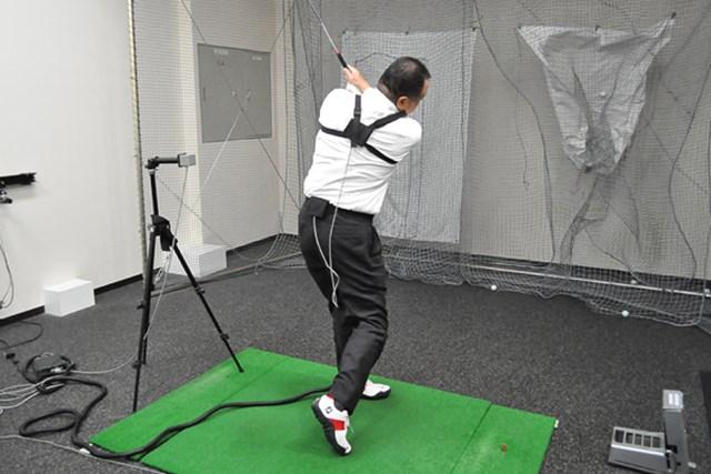 golftec コンパクトかつクラブの運動量UP 1-1
