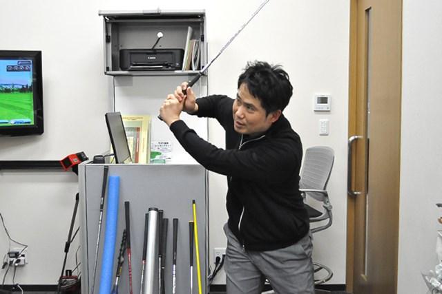 golftec コンパクトかつクラブの運動量UP 3-1
