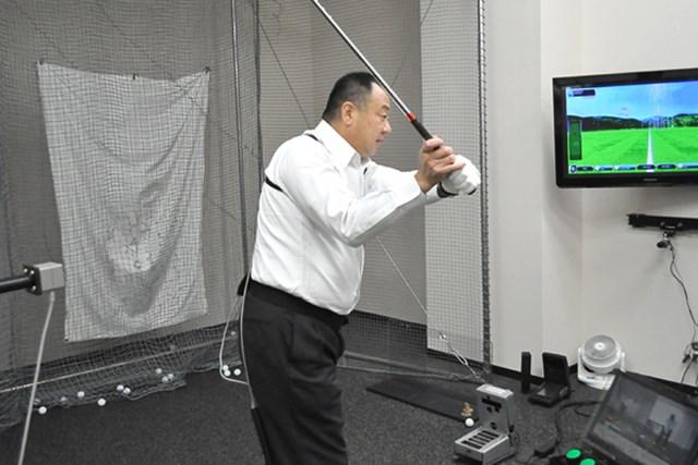 golftec コンパクトかつクラブの運動量UP 5-1