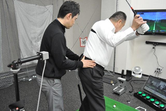 golftec コンパクトかつクラブの運動量UP 5-2
