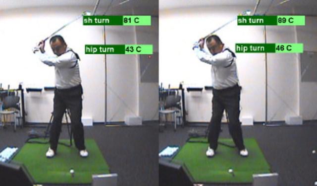 golftec コンパクトかつクラブの運動量UP 6-1