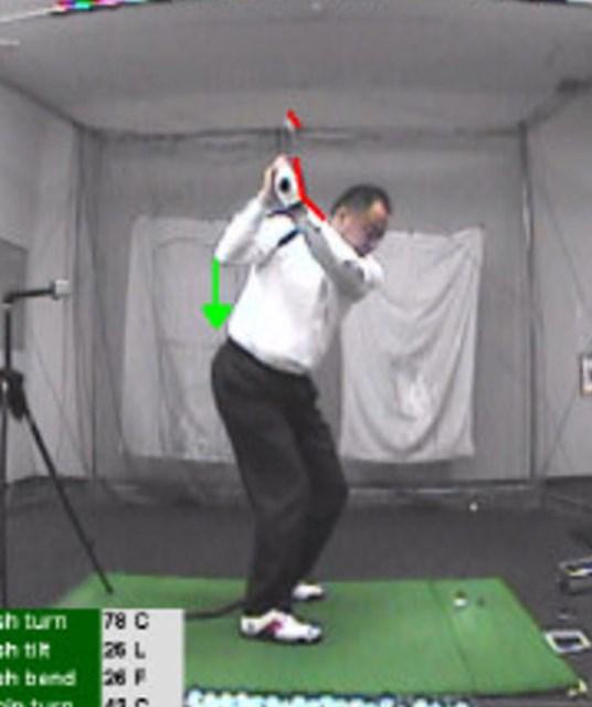 golftec コンパクトかつクラブの運動量UP 2-1