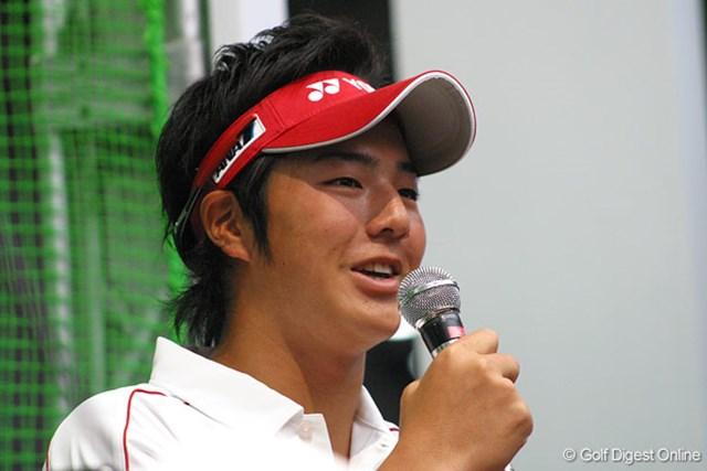 人生初のトークショーに挑戦した石川遼