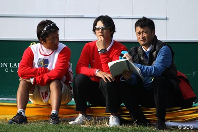 2013年 ザ・ロイヤルトロフィ 初日 横田真一 横田プロは自身の研究で訪れているらしい…