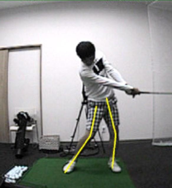 golftec 下半身ですぐ改善すべきところは? 5-1