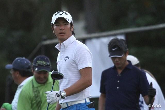 プロアマ戦に出場した石川遼。長いシーズンを見据え、堅実路線に舵を切った。