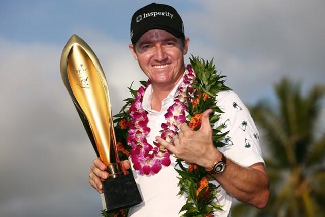 2014年 ソニーオープンinハワイ 最終日 ジミー・ウォーカー 昨秋のPGAツアー初勝利から早くも2勝目!ウォーカーが接戦を制した(Tom Pennington/Getty Images)