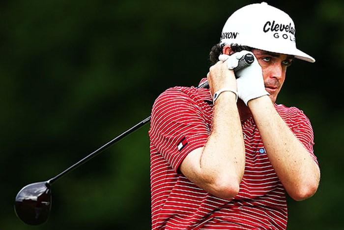 PGAウエストで迎える14年初戦で、幸先の良いスタートを見据えるK.ブラッドリー(Getty Images) 2014年 ヒュマナチャレンジ クリントンファウンデーション 事前 キーガン・ブラッドリー