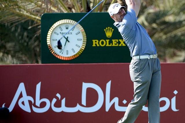 強豪揃いのアブダビで、ツアー初優勝へまい進を続けるC.リー(Getty Images)