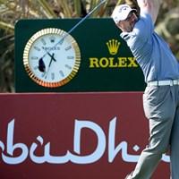 強豪揃いのアブダビで、ツアー初優勝へまい進を続けるC.リー(Getty Images) 2014年 アブダビHSBCゴルフ選手権 2日目 クレイグ・リー