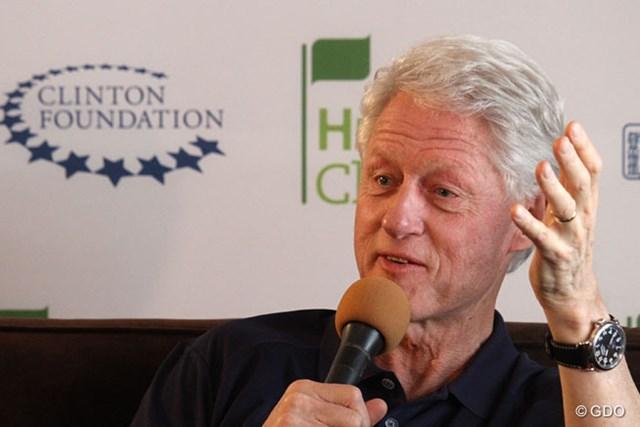 67歳になっても精力的な活動を続けるビル・クリントン元大統領