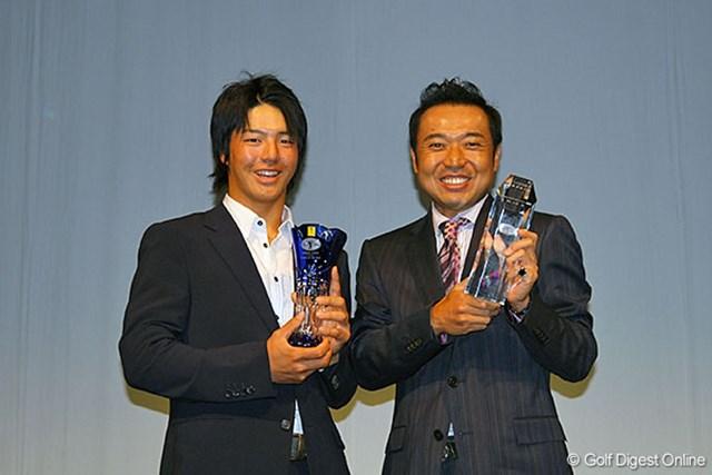 今シーズンの主役となった片山晋呉と石川遼。来シーズンの活躍にも期待!