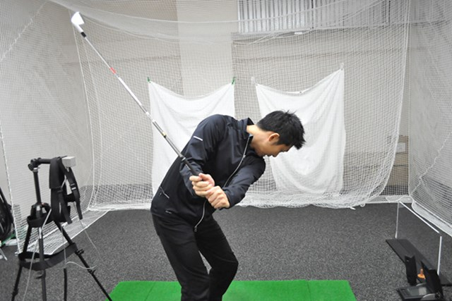 golftec すくい上げる悪癖の連鎖を解消! 2-1