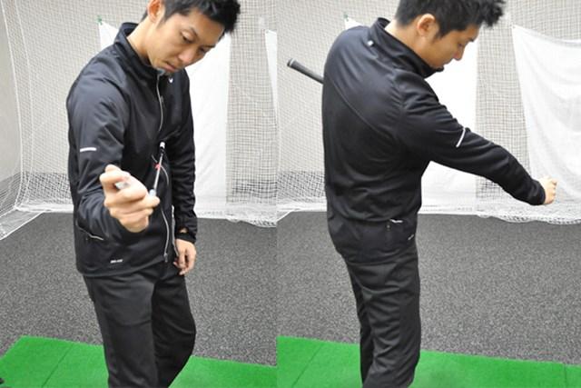 golftec すくい上げる悪癖の連鎖を解消! 5-2