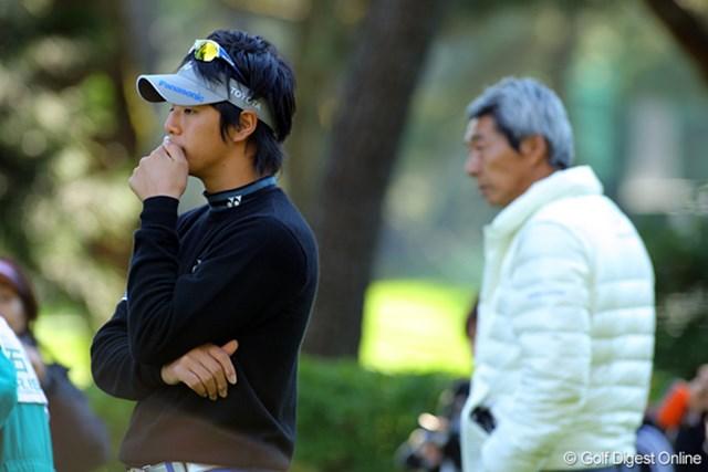 石川遼は父・勝美氏と相談しパターを以前のものに戻して高速グリーンに挑む