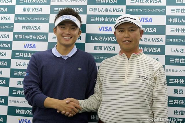 今年のW杯代表は今田竜二(左)と谷口徹。互いに認め合う2人のコンビネーションに期待!