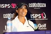 2014年 ISPSハンダオーストラリアン女子オープン 事前 シャイアン・ウッズ