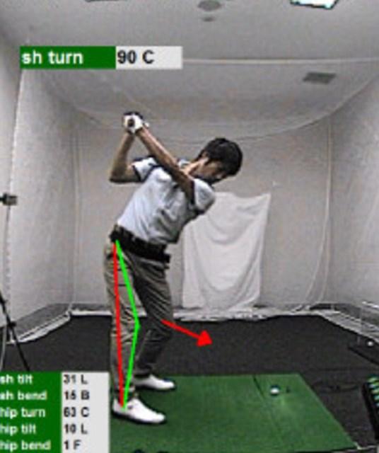golftec アプローチで覚える理想のインパクト 1-1