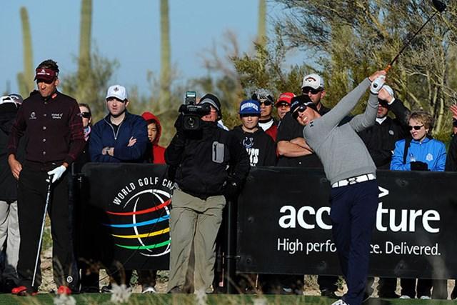 2014年 WGCアクセンチュアマッチプレー選手権 事前 マット・クーチャー 昨年大会の決勝でクーチャーに敗れたメイハンは、過去2年の同大会で11勝1敗だ。(Stan Badz/PGA TOUR)