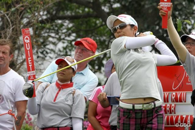 初日の宮里藍は日本人最上位ながら首位と8打差の40位タイ
