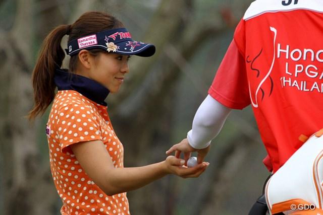米ツアー初参戦の堀奈津佳は、「緊張した」と49位タイの滑り出し