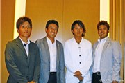 (左から)清田太一郎、司会担当の芹澤信雄、岩田寛、甲斐慎太郎