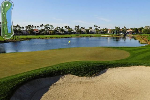 PGAナショナル 15番ホール(PGA TOUR)