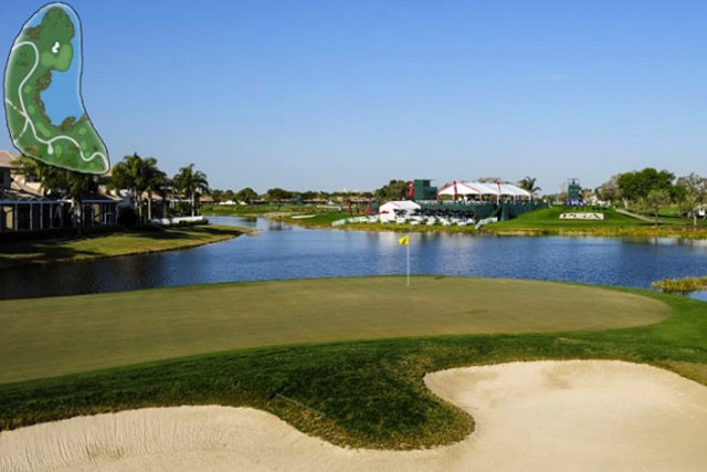 PGAナショナル 17番ホール(PGA TOUR)
