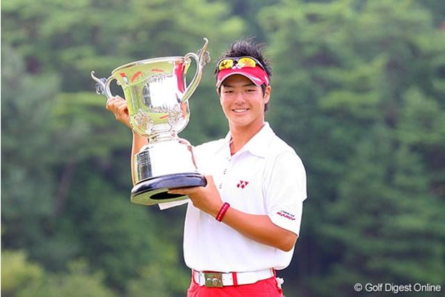 プロ初優勝は関西オープン!そして来年は連覇を狙うと高らかに宣言