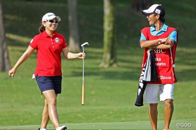 上位の背中は遠いが、「やっとゴルフがまとまってきた」と明るい笑顔も見え始めた宮里美香