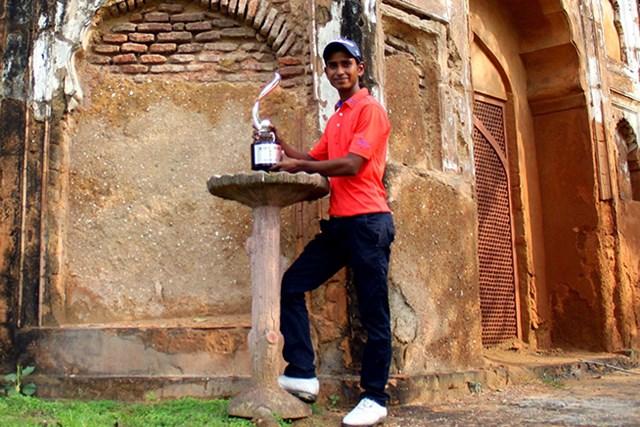 ツアー初優勝を地元インドでの完全勝利で飾ったラシード・カーン(Asian Tour)