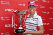 2014年 HSBC女子チャンピオンズ 最終日 ポーラ・クリーマー