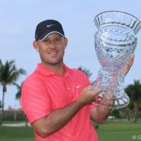 今年もディフェンディングチャンピオンとして参戦するスコット・ブラウン 2014年 プエルトリコオープン 事前 スコット・ブラウン