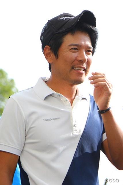 ゴルフ界きってのイケメン矢野東が入籍を発表※写真は2013年「マイナビABCチャンピオンシップ」練習日