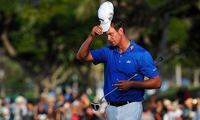 2014年 バルスパー選手権 事前 ハリス・イングリッシュ 好調のイングリッシュが2014年の初勝利を手にするか(Stan Bads/PGA TOUR、2014年ソニーオープン)
