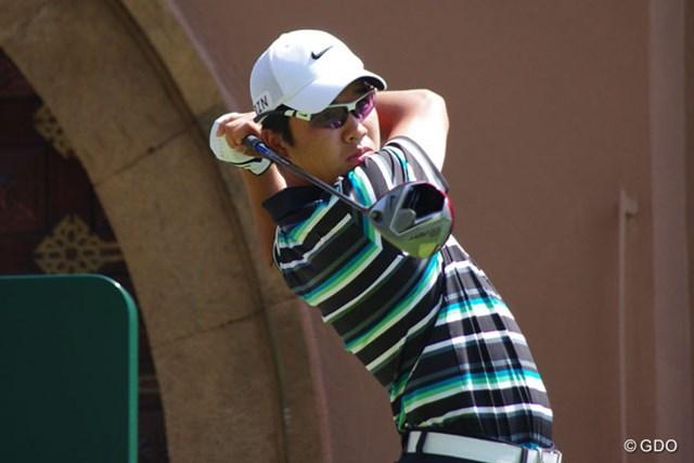 伊藤誠道は予選突破に向け、粘りのゴルフで38位発進!