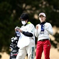 ショットに手ごたえ? 2014年 ヨコハマタイヤPRGRレディスカップ 初日 井上希